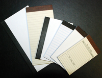 Scratch/Note Pad Refills